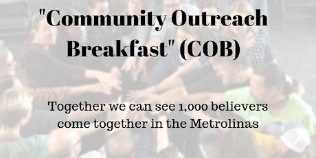 Community Outreach Breakfast, Blackfinn Pub, Ballayntyne tickets
