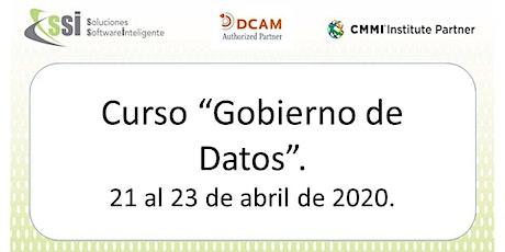 Curso GOB02 - Gobierno de datos boletos