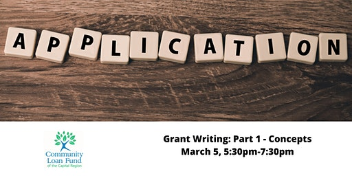 Grant Writing: Part 1 - Concepts