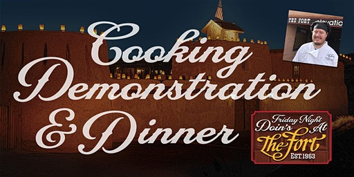 Stock Show Cooking Demonstration and Dinner by Chef Ian Stewart-Shelafo