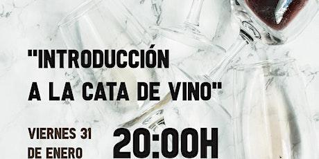 Introducción a la cata de vino entradas