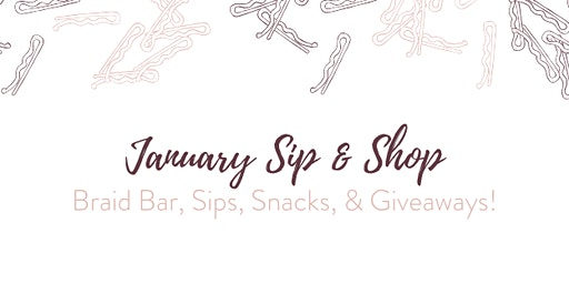 January Sip & Shop