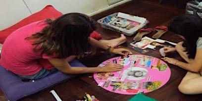 Atelier de Arte terapia -A Mandala dos desejos