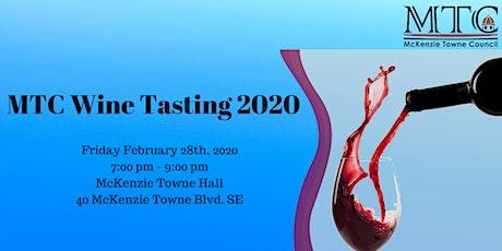 MTC Wine Tasting 2020 tickets