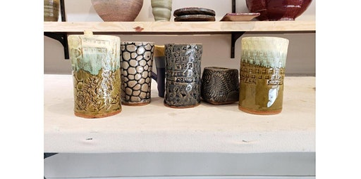 All Skill Hand Built Ceramic Mugs (04-24-2020 starts at 6:00 PM)