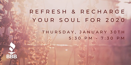 Refresh & Recharge Your Soul for 2020 tickets