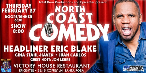 "Victory House Presents ""North Coast Comedy!"""