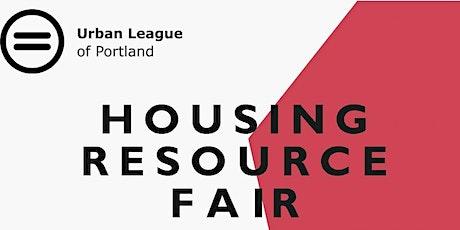 Housing Resource Fair tickets