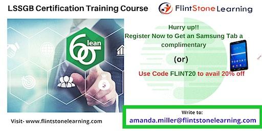 LSSGB Classroom Training in New Almaden, CA