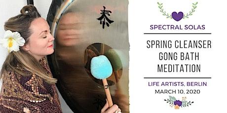 Spring Cleanser Gong Bath Meditation Tickets