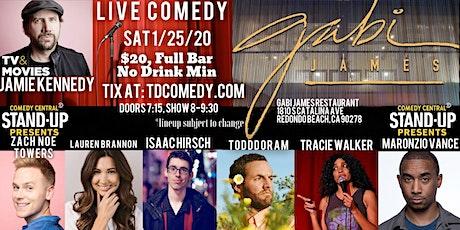 Live Comedy in Redondo Beach on 1/25! tickets