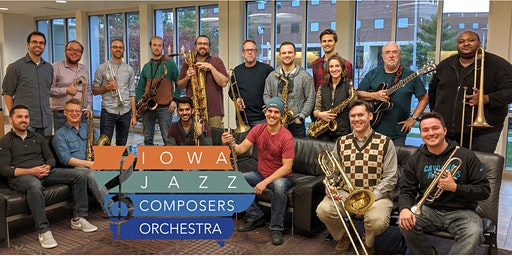 Iowa Jazz Composers Orchestra in Davenport