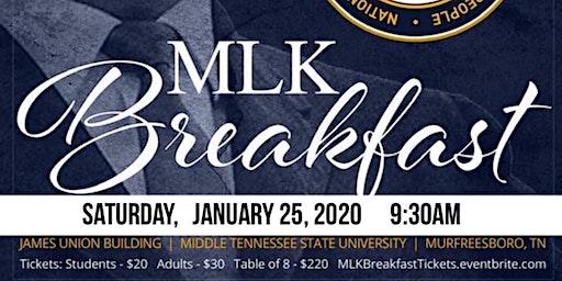 NAACP Murfreesboro MLK Breakfast Celebration