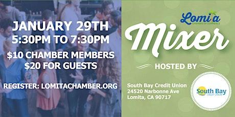January Networking Mixer [Lomita Chamber] tickets
