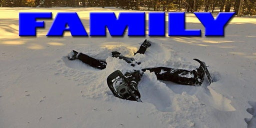 Family with Young Kids Snowshoe--Very Easy, 11