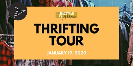 Thrifting Tour : Saving coins one thrift store at a time tickets