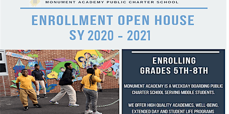 Monument Academy PCS Open House tickets