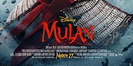 Guerrilla Reel Presents Mulan (Private Screening Meet Up) tickets