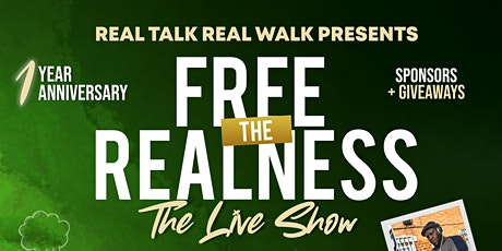 Real Talk Real Walk - The Live Show tickets