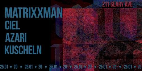 Untitled x Model Future: Matrixxman tickets