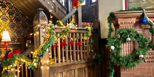 Cook Mansion Victorian Christmas Tours