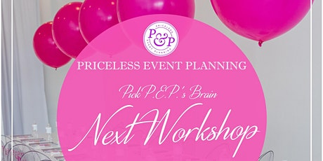 October 2020 PEP'S OFFICIAL EVENT PLANNING & DESIGN WORKSHOP tickets