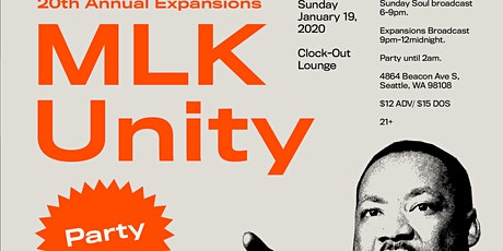 20th Annual Expansions MLK Unity Party tickets