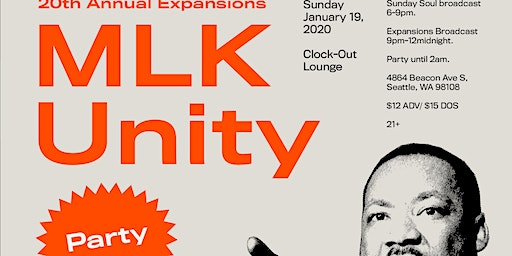 20th Annual Expansions MLK Unity Party