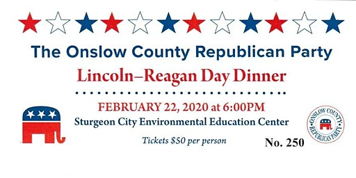 2020 Onslow County Lincoln-Reagan Day Dinner