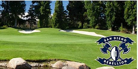 San Diego Rebellion Golf Tournament tickets