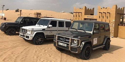 Private Mercedes G-class Desert Safari with VIP Dinner by Instahop