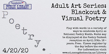 Blackout & Visual Poetry Workshop tickets