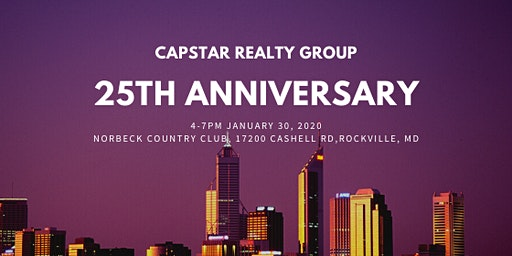 CapStar 25th Anniversary Celebration (Invite Only)