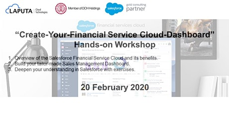 """Create-Your-Financial Service Cloud-Dashboard"" Hands-on Workshop tickets"