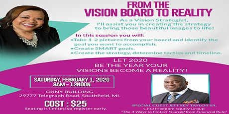 From the Vision Board to Reality! tickets