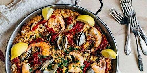 Paella, Churros & Sangria
