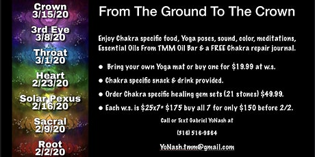 From The Ground To The Crown / Root Chakra-1 tickets