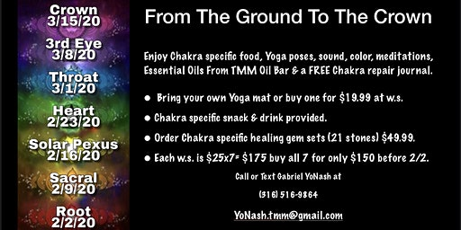 From The Ground To The Crown / Root Chakra-1