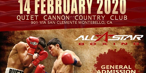 Battle of the Rising Stars! Live Professional Boxing Valentines Day Melee