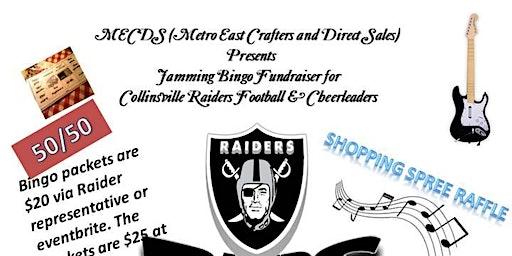 MECDS Jamming Bingo for Raiders Football & Cheerleaders