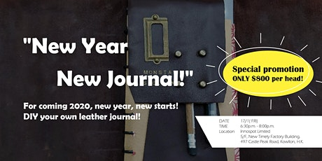 DIY Your Own Leather Journal tickets