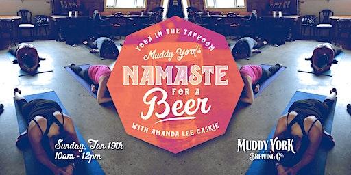 Namaste For A Beer With Amanda Lee Caskie