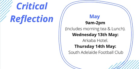 Critical Reflection tickets