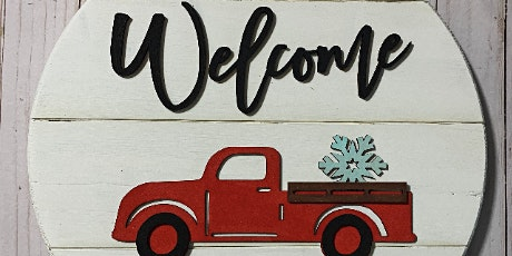 Sign Party - Farmhouse Vintage Truck
