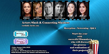 Candid Conversations with Professionals in the Entertainment Industry (Adriana Barraza, Michael Blevins, Kiki Melendez, Jack Gastelbondo, Tannie Tang) tickets