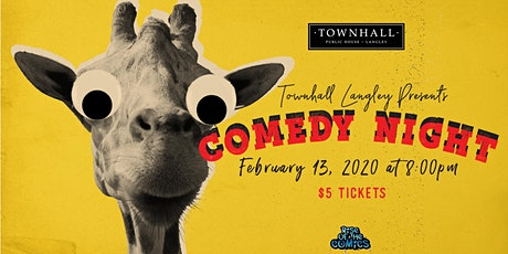 Comedy Night at Townhall Public House Langley tickets
