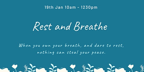 Rest and Breathe with Youmin and Krisa tickets