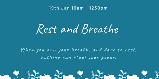 Rest and Breathe with Youmin and Krisa