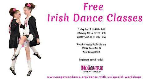 Free Irish Dance Classes