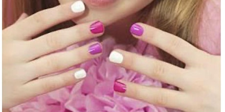 Kids nails and make up party tickets